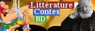 - BD, Contes, Littérature, Animés