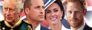 - La famille royale d'Angleterre