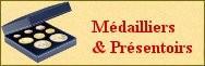 Box, Médailliers & Présentoirs