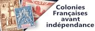 Colonies françaises avant indépendance