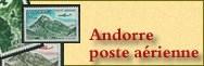 Andorre Poste Aérienne **