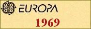 Timbres EUROPA 1969