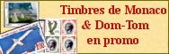 Monaco, Andorre, Dom-Tom - PROMOS