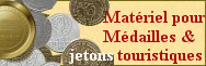 Médailles & jetons touristiques