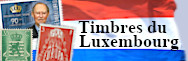 Luxembourg - timbres