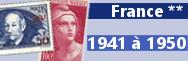 de 1941 à 1950 (n° 470 à 877)
