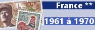 de 1961 à 1970 (n° 1281 à 1662)