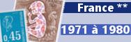 de 1971 à 1980 (n° 1663 à 2117)