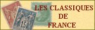 Les timbres classiques de France