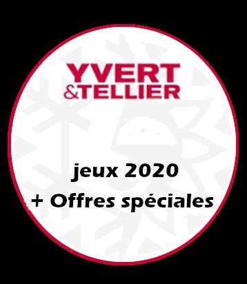 Jeux Yvert&Tellier 2020