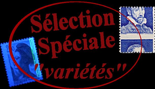 Sélection spéciale variétés